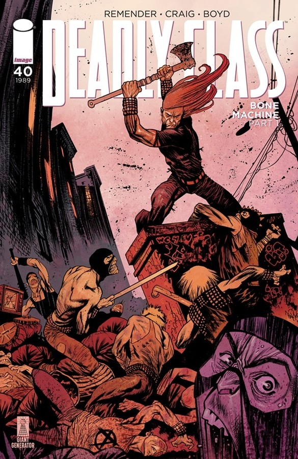 Deadly Class #40 review: cult classic