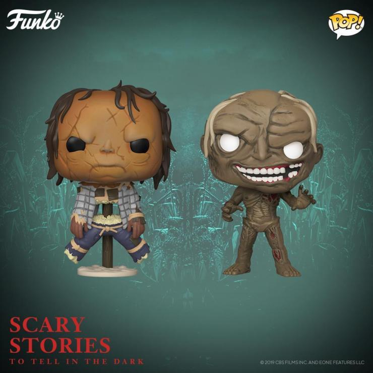 First Look: 'Scary Stories to Tell in the Dark' gets monster Funko POP! vinyl toys