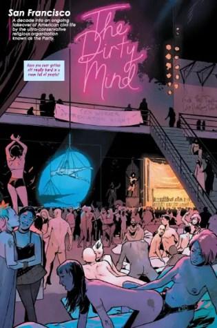 """Erotic, suspenseful, funny, horrifying"": Tina Horn talks new Image series 'SFSX'"