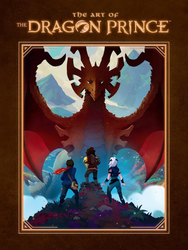 Dark Horse and Wonderstorm partner to create The Art of The Dragon Prince