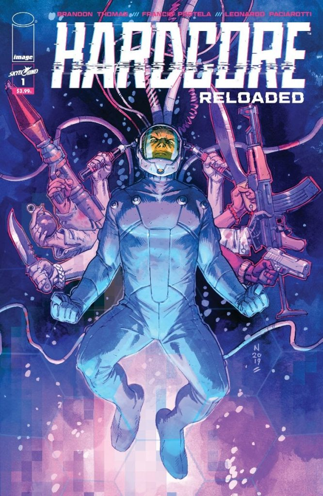 Image announces new five-issue miniseries, Hardcore:Reloaded