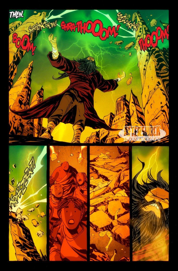 Dark Ark: After the Flood #1 Review