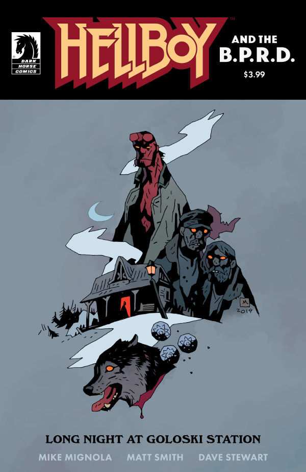 Hellboy and the B.P.R.D. Long Night at Goloski Station Review