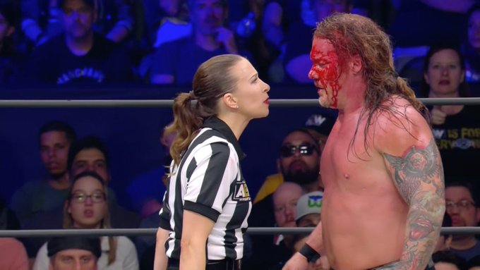 In AEW tag team matches, 'referee's discretion' is taken to its limit