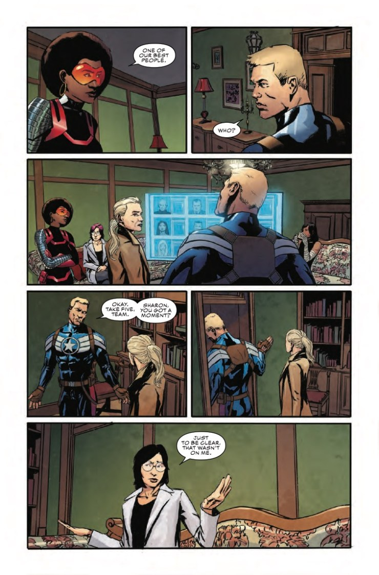 Marvel Preview: Captain America #15