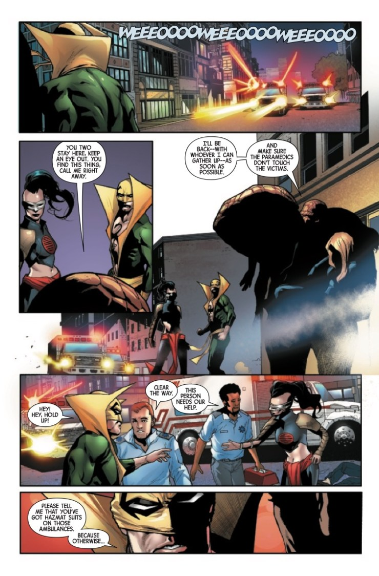 Marvel Preview: Contagion #2