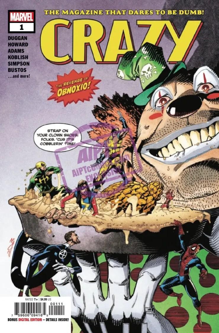 EXCLUSIVE Marvel Preview: Crazy #1