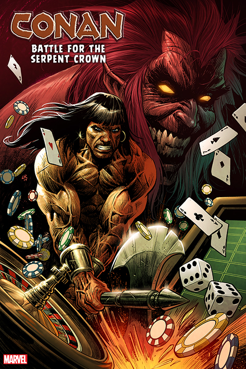 Saladin Ahmed and Luke Ross take on 'Conan: Battle for the Serpent Crown' #1