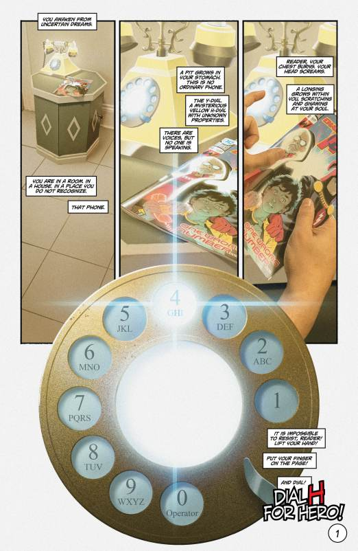 Dial H for Hero #8 Review: Dial M for Multiverse