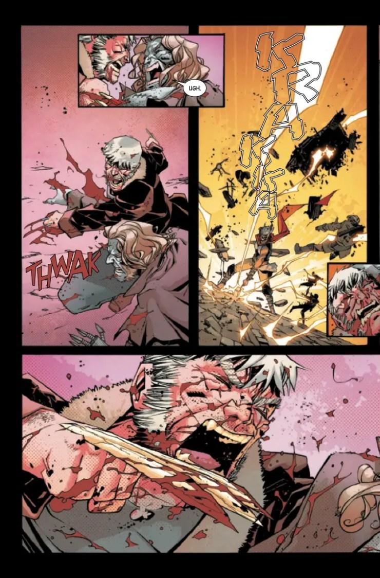 Marvel Preview: Dead Man Logan #12