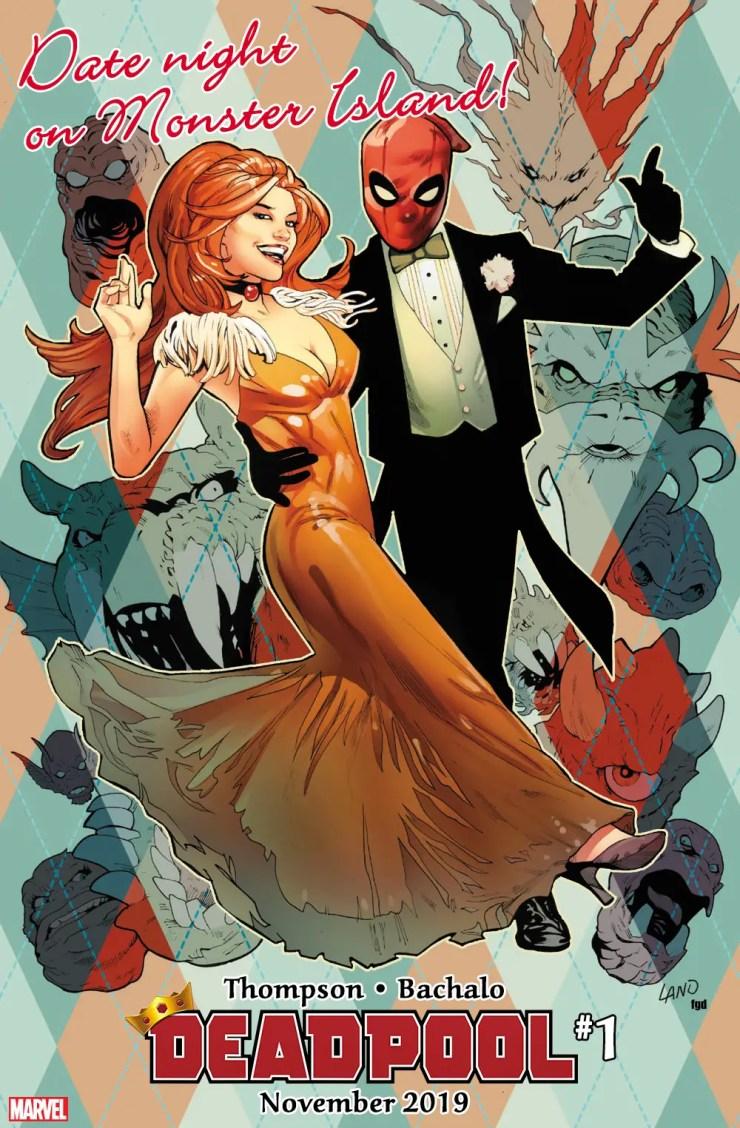 Ready for date night? Deadpool is in new Deadpool #1 teaser