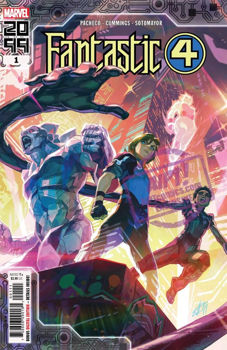 EXCLUSIVE Marvel Solicitation: Fantastic Four 2099 #1