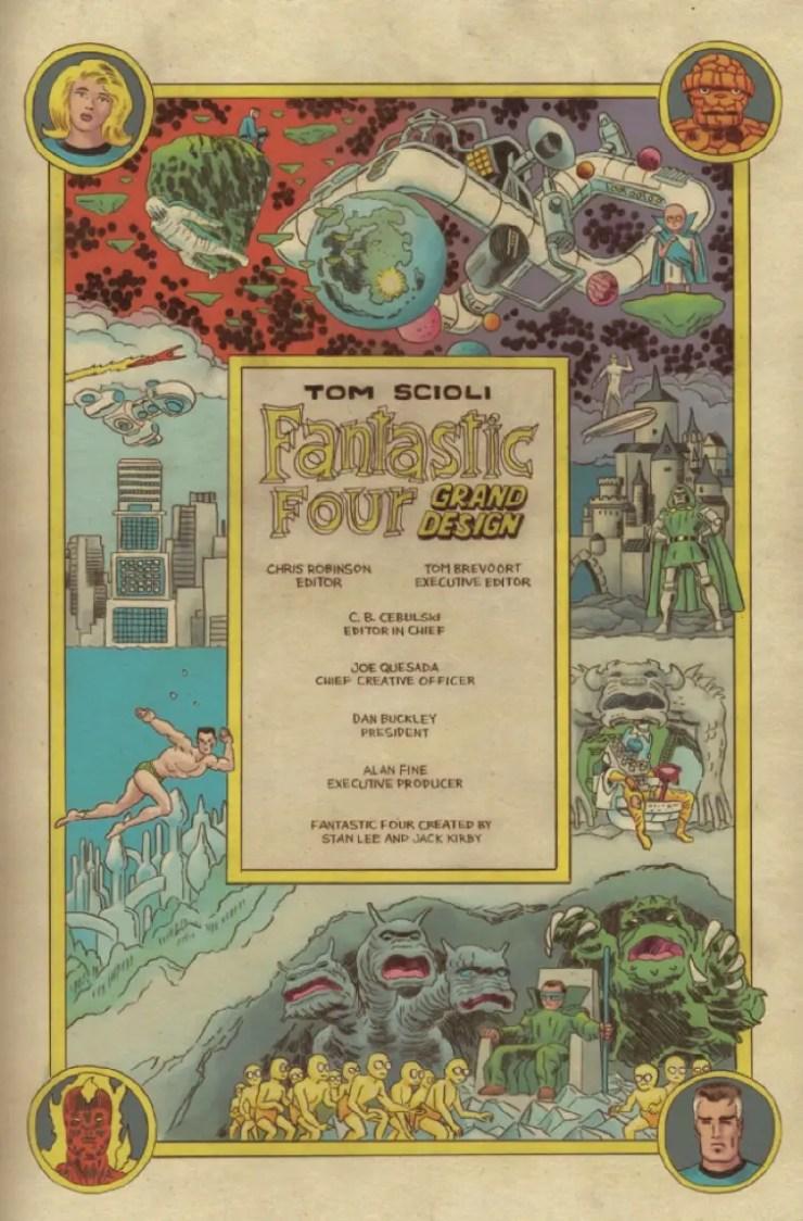 Marvel Preview: Fantastic Four: Grand Design #1