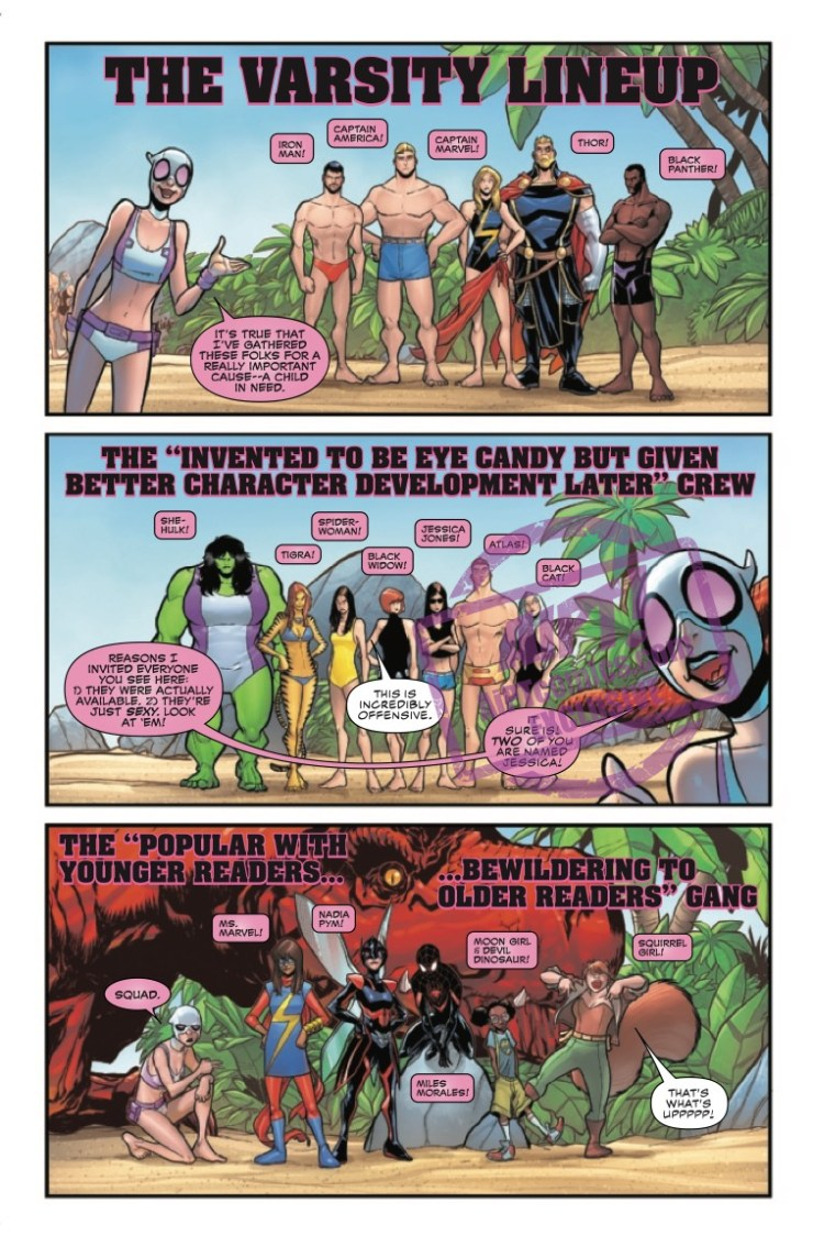 EXCLUSIVE Marvel Preview: Gwenpool Strikes Back! #3