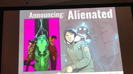 NYCC '19: Simon Spurrier talks about his new book 'Alienated' from BOOM! Studios