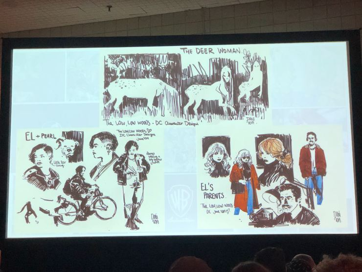 DC House of Horrors panel reveals Hill House, Black Label, and Sandman plans