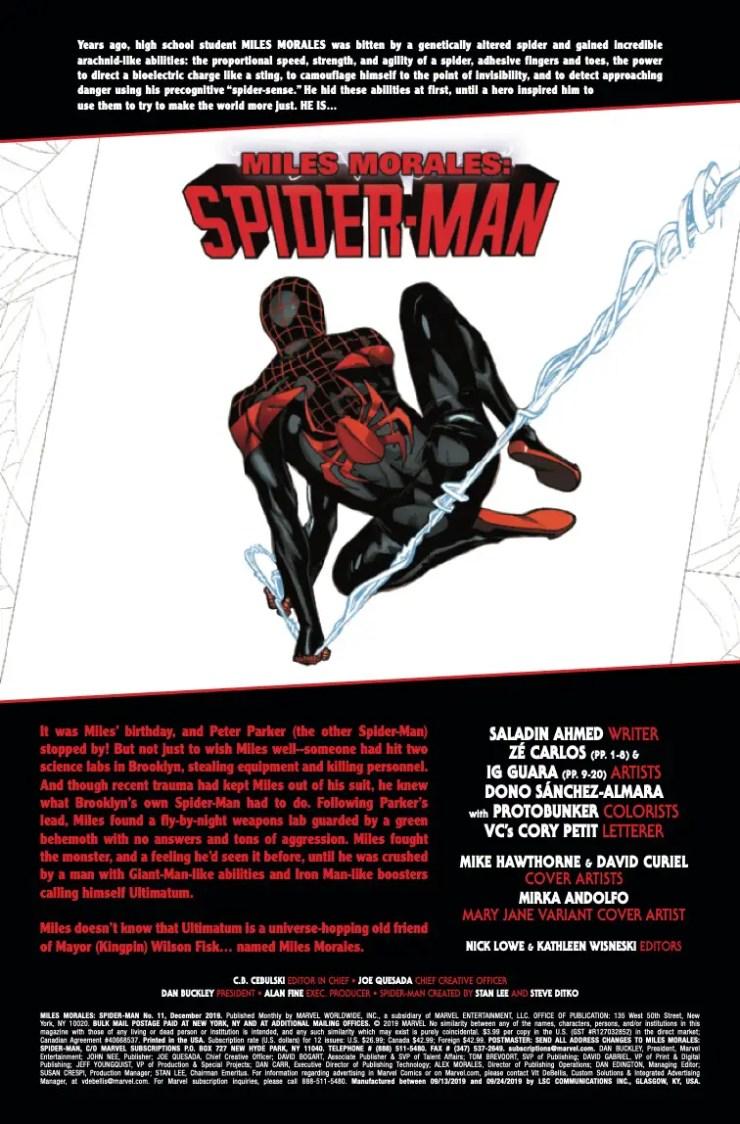 Marvel Preview: Miles Morales: Spider-Man #11