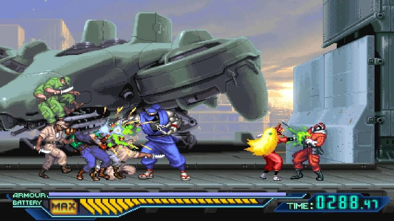 The Ninja Saviors -- Return of the Warriors review