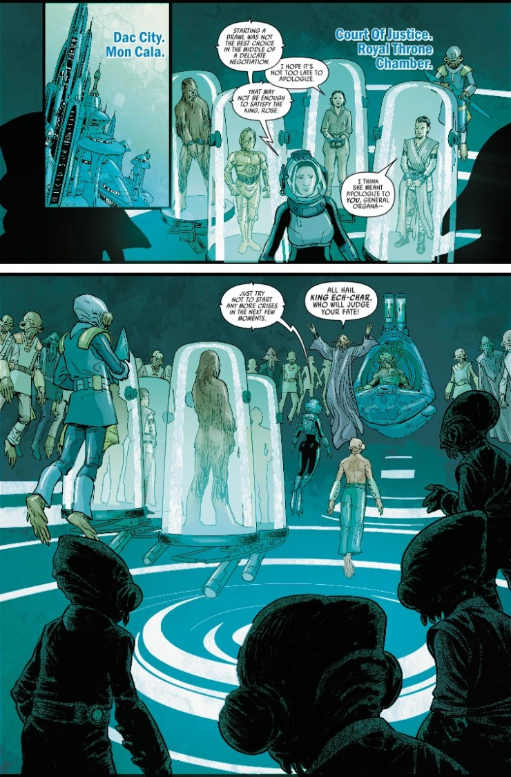 Marvel Preview: Journey to Star Wars: The Rise of Skywalker - Allegiance #3