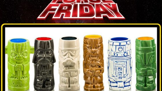 Did you miss out on series 1 of the Star Wars Geeki Tiki mugs when they first came out? No worries! Beeline Creative and Toynk Toys has you covered! Force Friday was just last week and the holidays are right around the corner. It is a great time to purchase some of these cool Tiki mugs for you or the scruffy looking nerf herder in your life! Each mug is incredibly detailed, beautifully colored, and it's Star Wars! How cool are these things?!? The six officially licensed ceramic mugs are available for pre-order now for $25.99, so get over to Toynk Toys and buy them all!