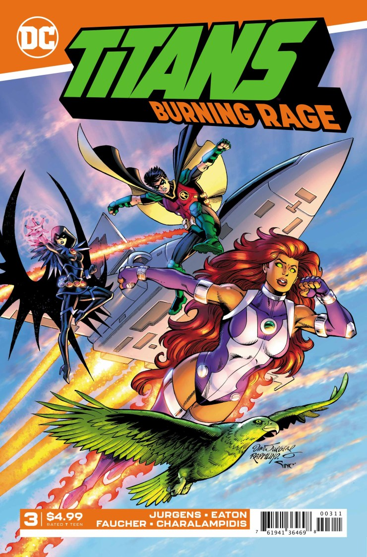 EXCLUSIVE DC Preview: Titans: Burning Rage #3