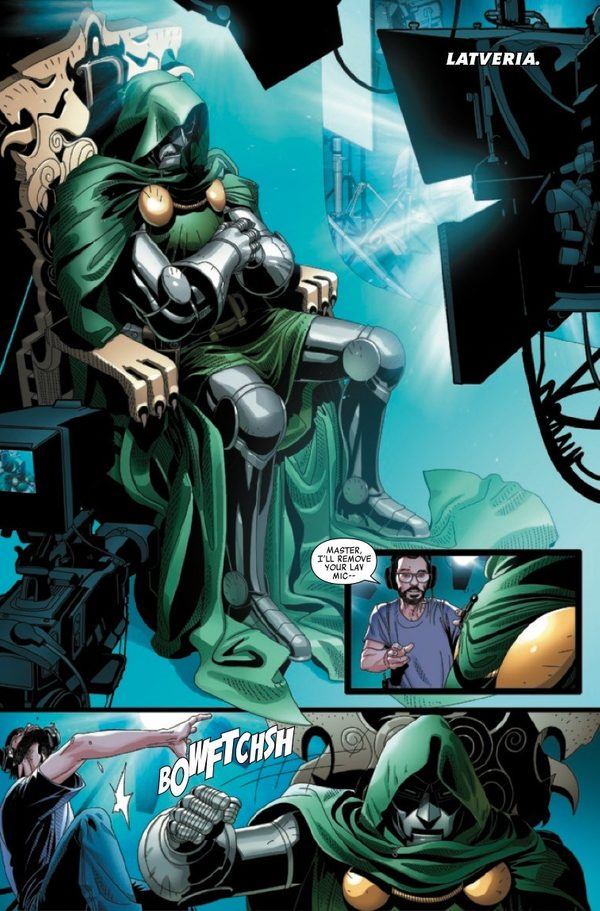 Not only does Doctor Doom #1 have compelling characterization and plot…it's damn funny.
