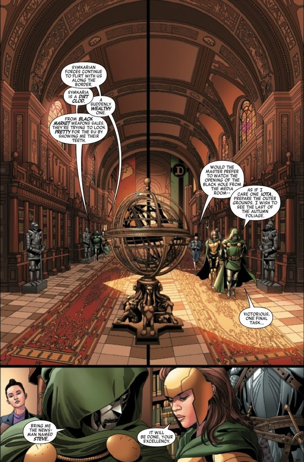 Doctor Doom #1 review: a tin man in search of a heart