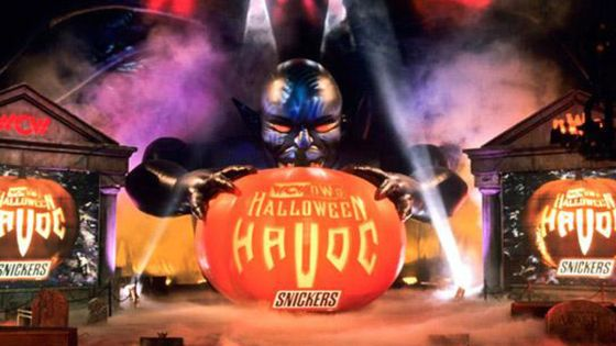 A look back at some of the most infamous matches in WCW Halloween Havoc history.