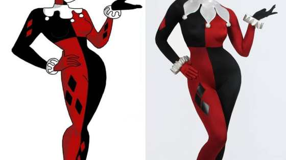"This Harley Quinn from Batman: TAS cosplay is so spot-on, we can hear the ""Mistah J"" in our heads already."