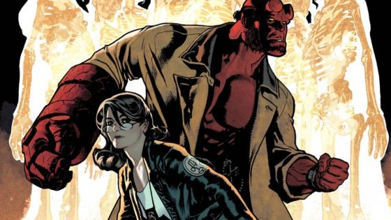 The laugh factory of Adam Hughes: Talking 'Hellboy & the B.P.R.D.: The Seven Wives Club'