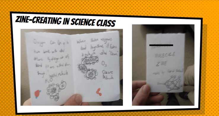 Reading science comics is great, but NYCC19 showed students how to make their own