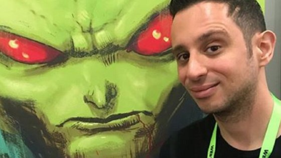 Talking Wonder Woman and Martian Manhunter with Steve Orlando