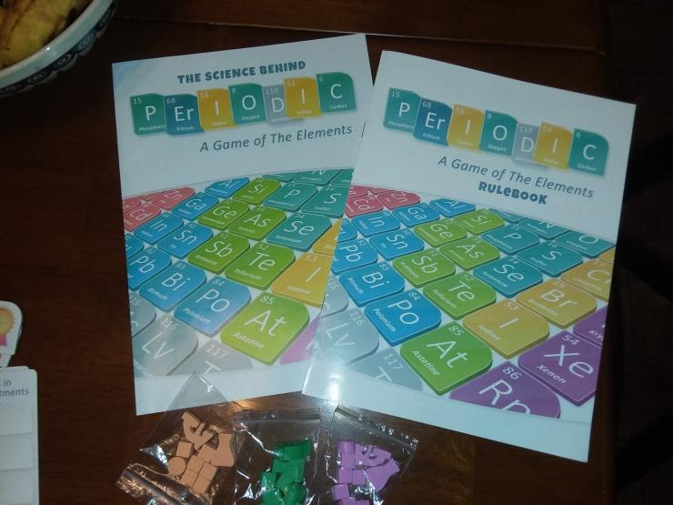 'Periodic: A Game of the Elements' -- board game review