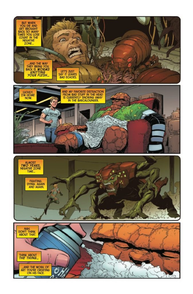 Marvel Preview: Annihilation: Scourge - Fantastic Four #1