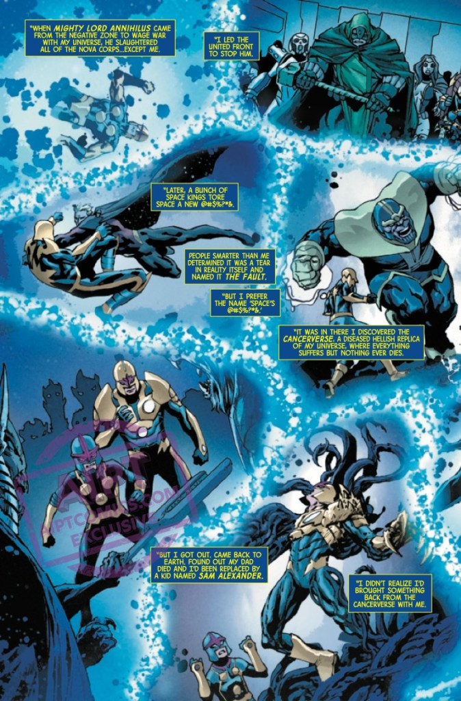 EXCLUSIVE Marvel Preview: Annihilation: Scourge - Nova #1