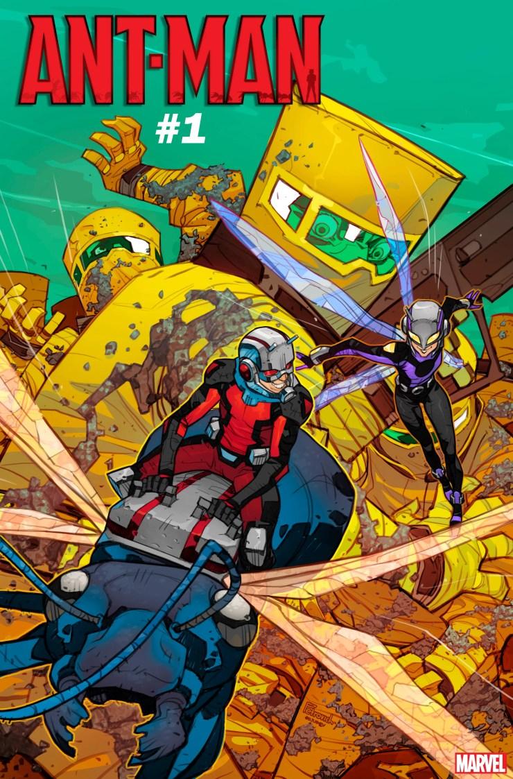 Zeb Wells, Dylan Burnett, Ant-Man, this February...Nuff said!