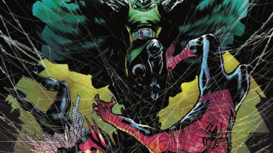 Spider-Man 2099's present is our crumbling future.