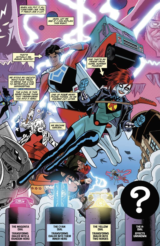 Dial H for Hero #9 Review