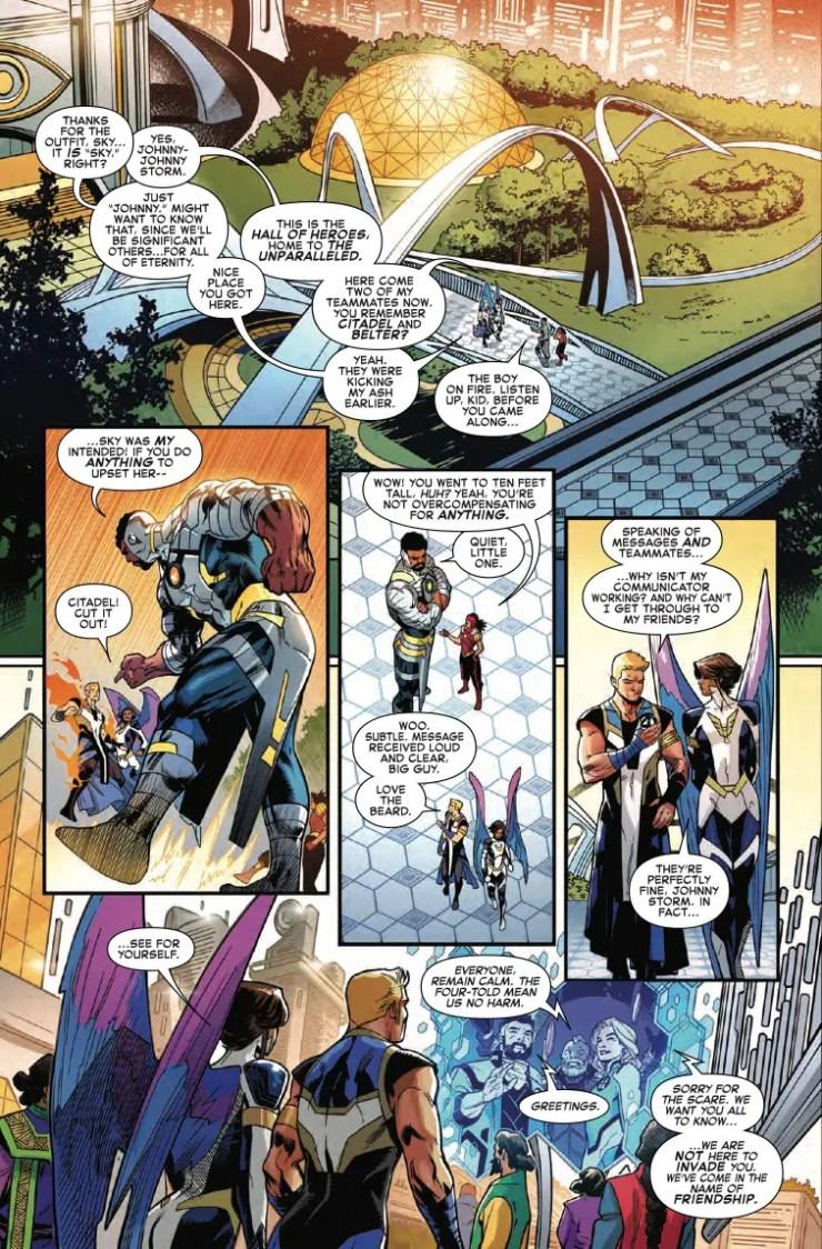 Marvel Preview: Fantastic Four #16