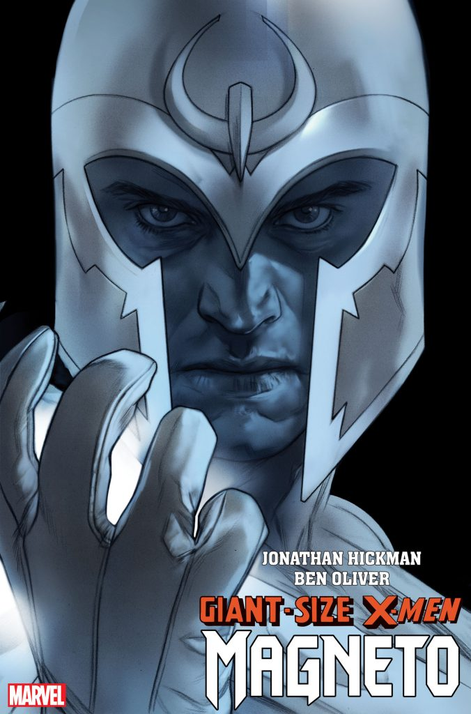 Jonathan Hickman's Giant-Size X-Men to feature Magneto in March with Ben Oliver on art