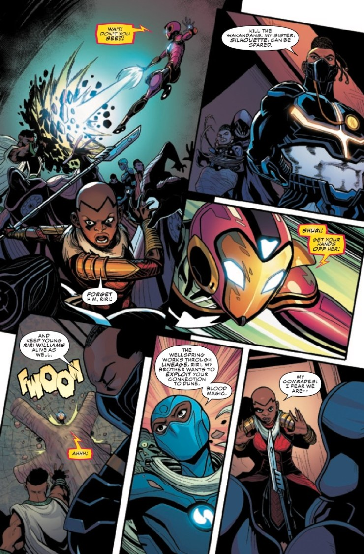 Marvel Preview: Ironheart #12