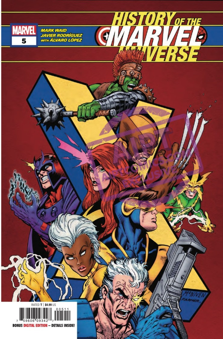EXCLUSIVE Marvel Preview: History Of The Marvel Universe #5
