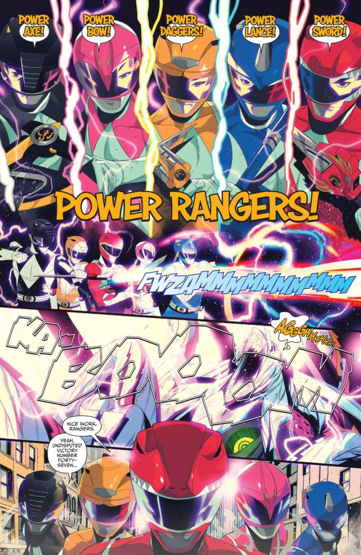 Mighty Morphin' Power Rangers/Teenage Mutant Ninja Turtles #1 Review