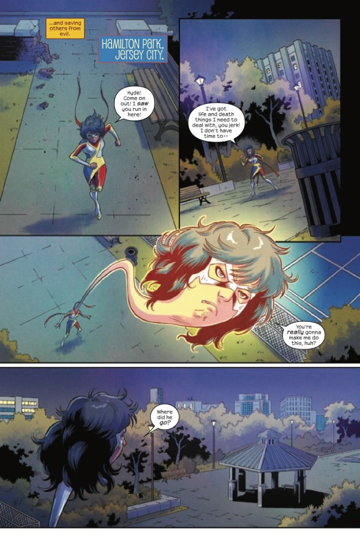 Marvel Preview: Magnificent Ms. Marvel #10