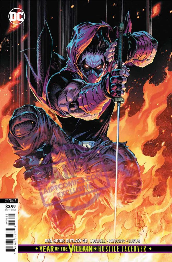 EXCLUSIVE DC Preview: Red Hood Outlaw #40
