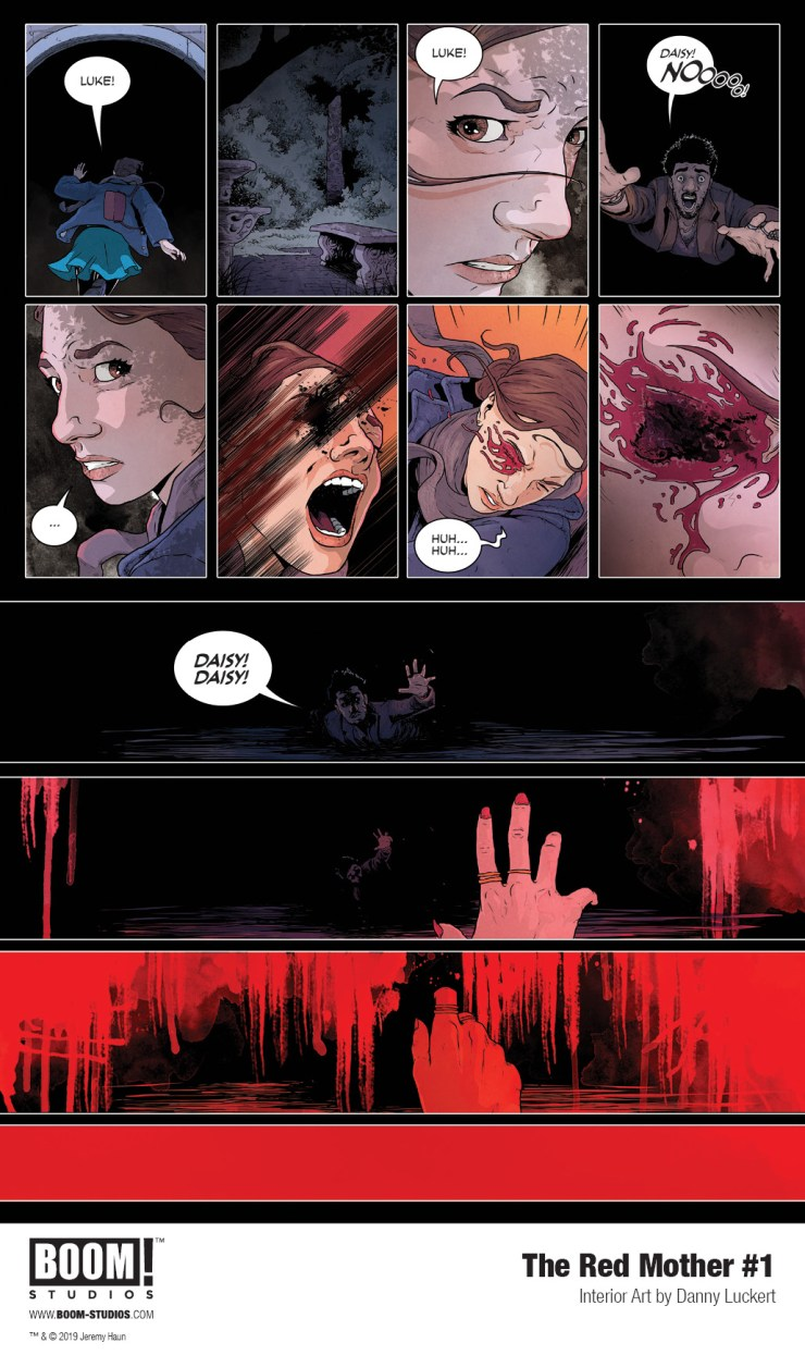 BOOM! Preview: The Red Mother #1