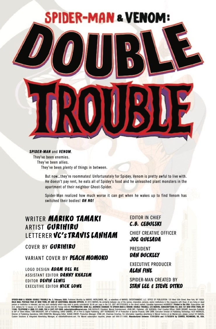 Marvel Preview: Spider-Man & Venom: Double Trouble #2