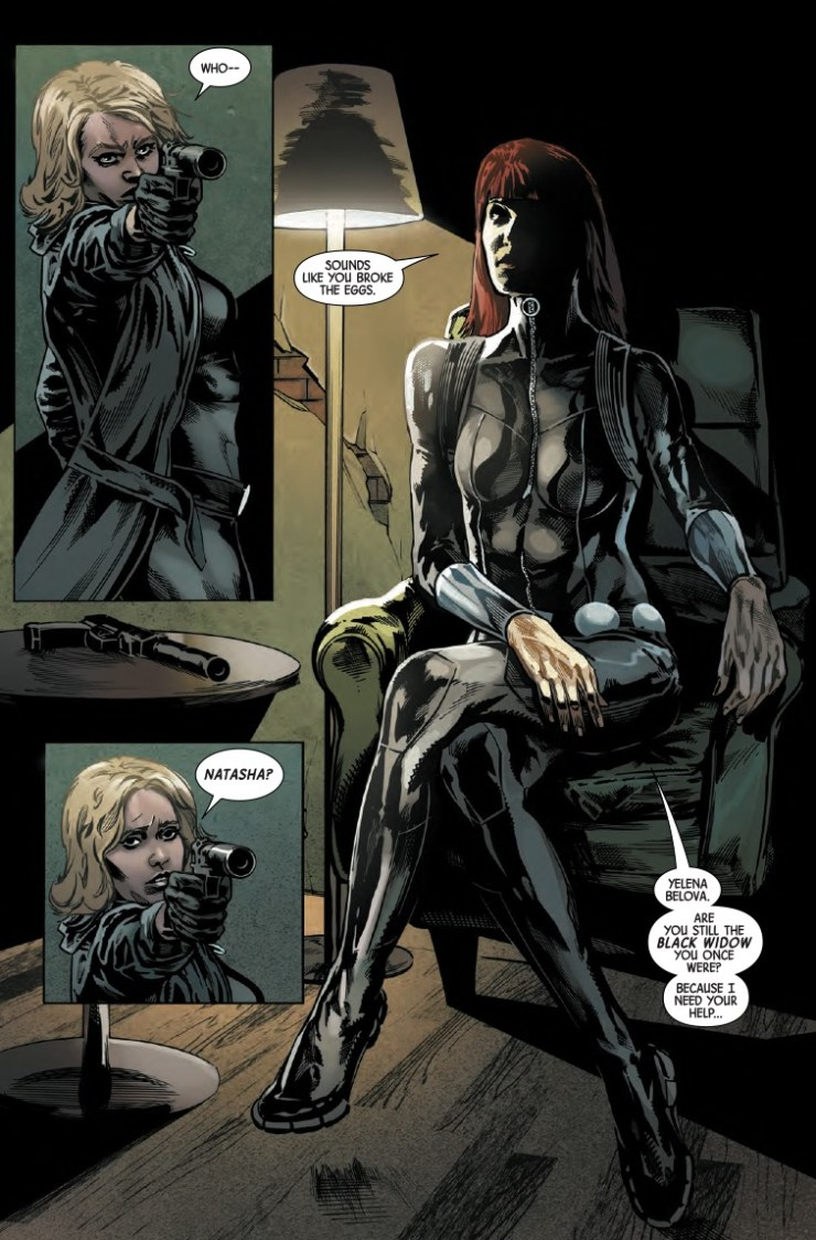 Marvel Preview: Web Of Black Widow #3