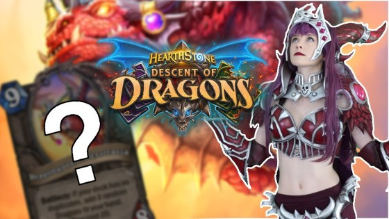The Dragonqueen makes her landing in Descent of Dragons as a Legendary dragon minion with a RNG-heavy Battlecry.
