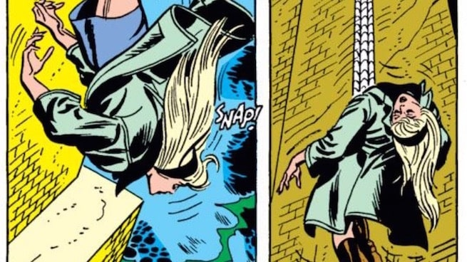 Naseed Gifted:  Saving Gwen Stacy in physics class